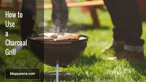 How to Use a Charcoal Grill - Image